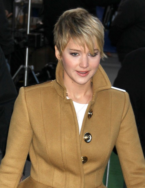 Jennifer Lawrence Visits ABC Studios