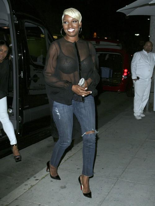 Nene Leakes Goes to Dinner in Hollywood