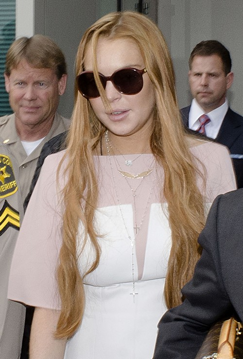 Lindsay Lohan Strikes A Plea Deal In Los Angeles