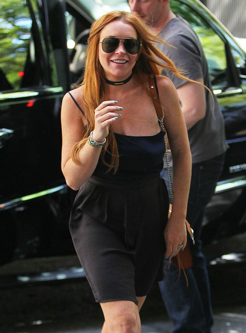 Lindsay Lohan Hanging Out Again With Vikram Chatwal: How Long Before She Falls Off The Wagon?