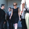 Lindsay Lohan Leaves The Court
