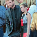 "Miley Cyrus and Liam Hemsworth Pose Together On ""Paranoia"" Red Carpet – Fight Back Breakup Rumors"