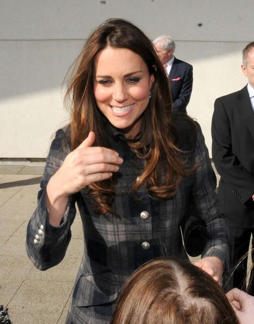 Prince William & Kate Middleton Visit Emirates Arena