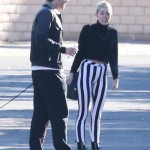 Miley Cyrus Looks Like A Clown Leaving A Family Gathering With Liam Hemsworth Today (Photos)