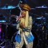 Nicki Minaj Performs in the Rain for Jimmy Kimmel Live
