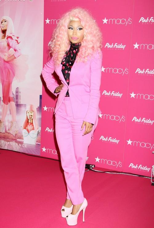 Nicki Minaj Drops a Live Breast Bomb