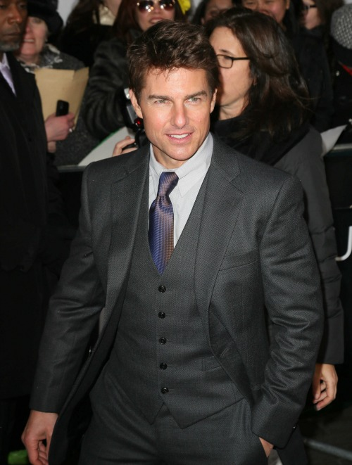Tom Cruise Talks Divorce From Katie Holmes