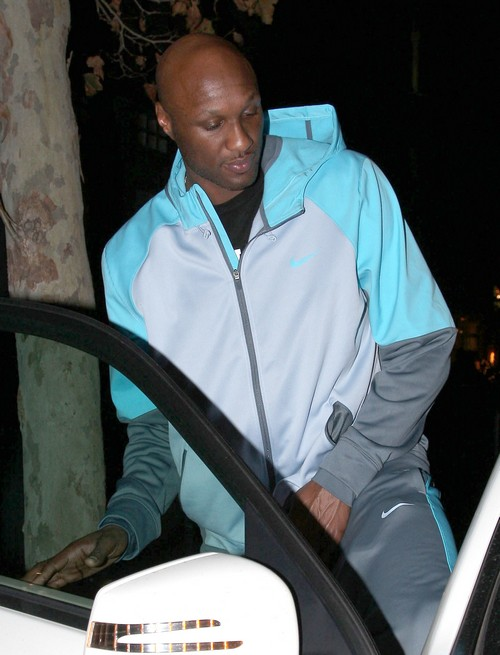 Exclusive... Lamar Odom Leaving Tavern In Brentwood