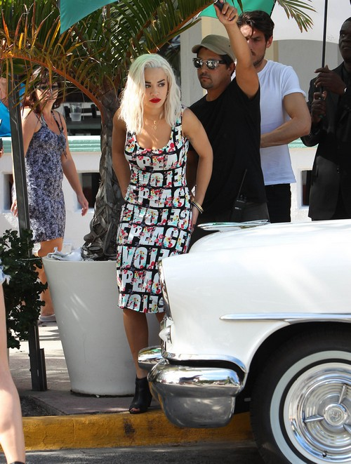 Rita Ora Rushed To The Hospital During A Photoshoot In Miami