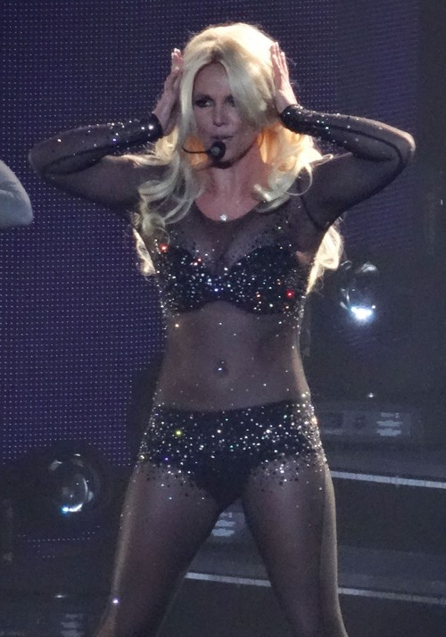 Britney Spears Performs During Her Britney: Piece Of Me Show