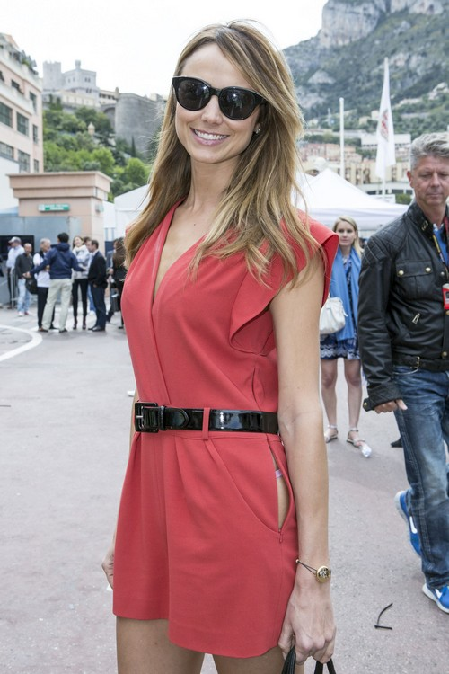 Celebrities attend the Grand Prix de Monaco Formula 1