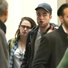 Robert Pattinson &amp; Kristen Stewart Arriving On A Flight At LAX