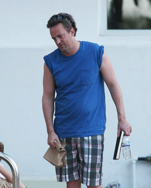 Matthew Perry Talks Drug Addiction Issues