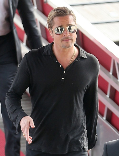 Brad Pitt Says NO MORE Sex Scenes In His Movies