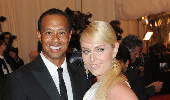Tiger Woods Fears Lindsey Vonn's Big Mouth Will Cost Him His Kids