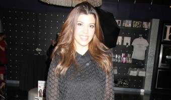 Kourtney Kardashian Makes An Appearance At Kardashian Khaos