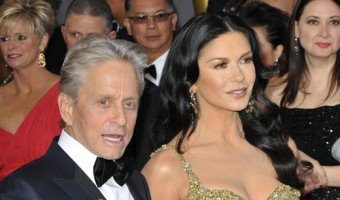 Michael Douglas Fights Catherine Zeta Jones for Custody of Kids
