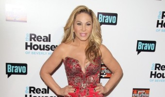 Adrienne Maloof Paid $25,000 to Kiss Mario Lopez