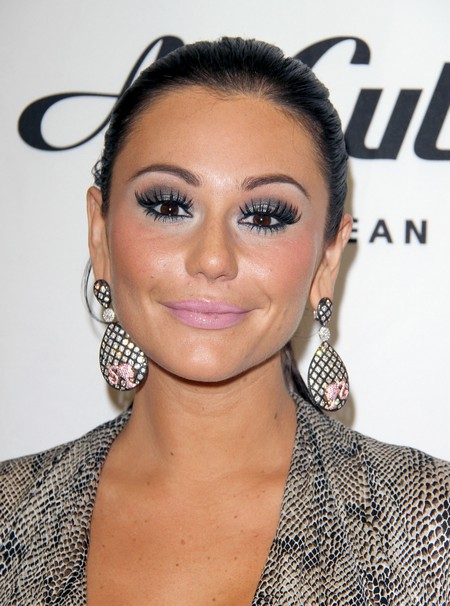 Jenni  JWoww Farley at the GNC in store signing for a natural body supplement in LA