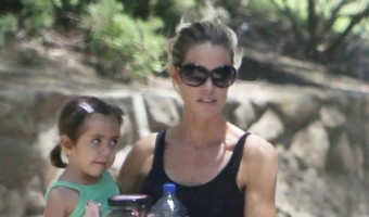 Denise Richards Enjoys Hanging Out With Charlie Sheen