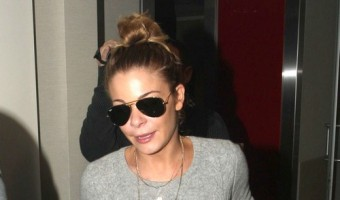 LeAnn Rimes And Family Departing On A Flight At LAX