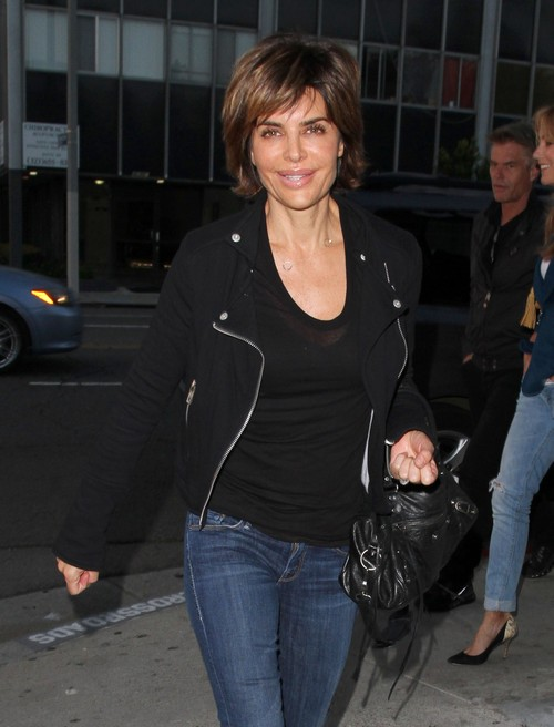 Lisa Rinna & Harry Hamlin Dine Out At Crossroads