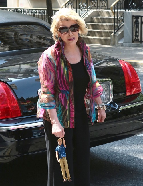 Joan Rivers Steps Out In New York