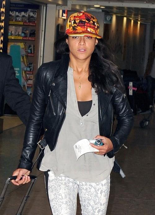 Michelle Rodriguez Lands In London
