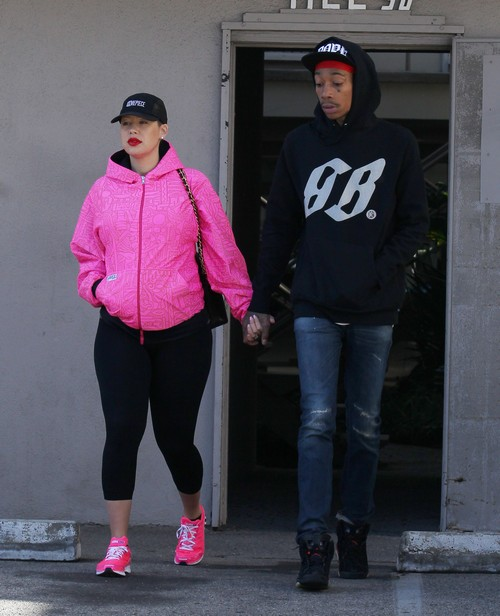 Report: Amber Rose Has Married Wiz Khalifa, Refers To Him As &#8220;My Husband&#8221;