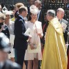 Royal Family Leaves Westminster Abbey
