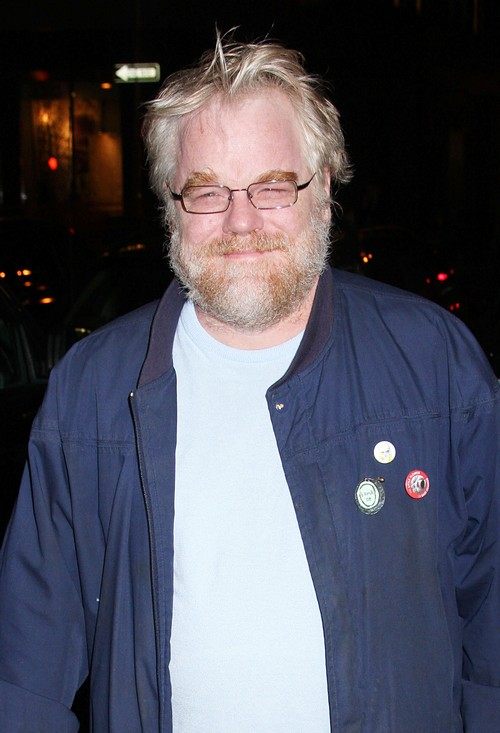 Phillip Seymour Hoffman photographed while out in New York City