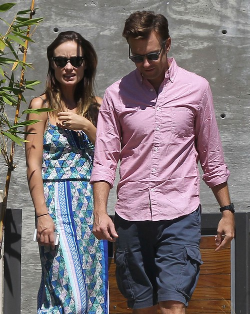 Exclusive... Jason Sudeikis and Olivia Wilde Go House Hunting In Los Angeles