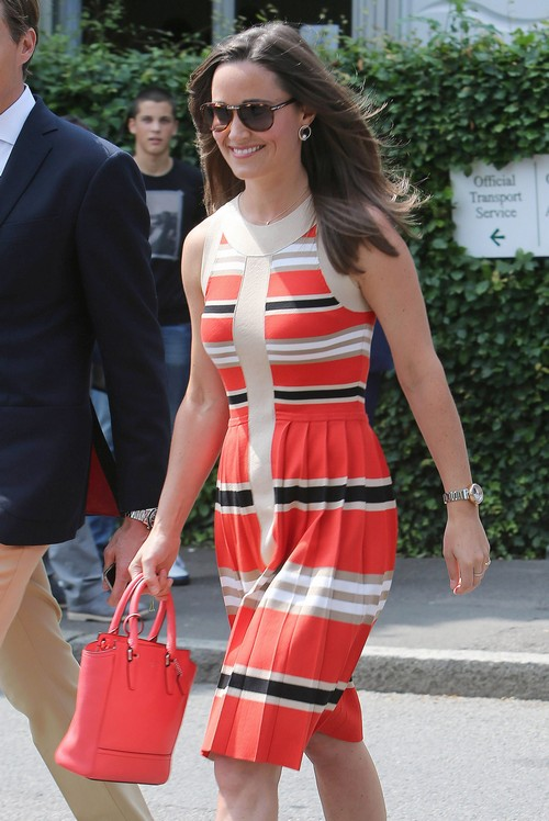 Celebrities Attend Wimbledon Matches