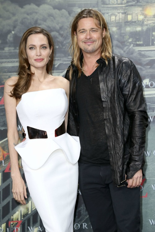 Brad Pitt Partied It Up Solo On Angelina Jolie's Birthday