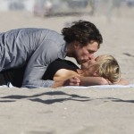 Sharon Stone Frolicks On The Beach With Her New 27-year-old Boy Toy (Photos)