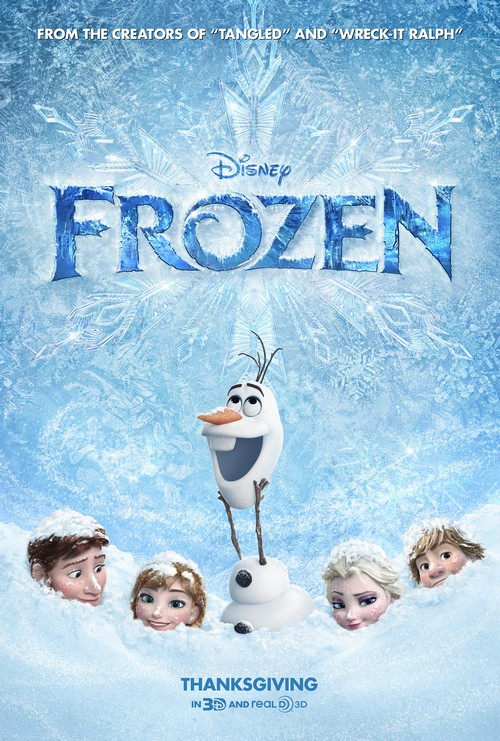 Disney's Frozen New Poster Released - SEE HERE!