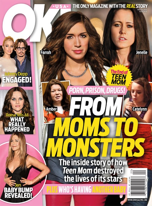 Teen Mom Cancelled: from Moms to Monster - Porn, Prison Drugs