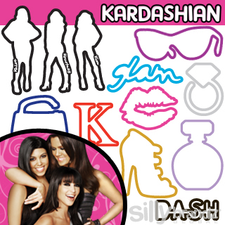Kardashian Silly Bandz Have Arrived