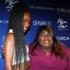 Gabby Sidibe and guest @ SPARKLE NY Premiere