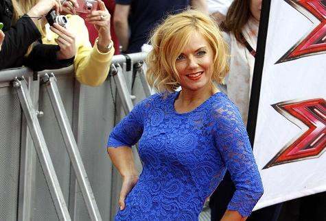Geri Halliwell on X Factor