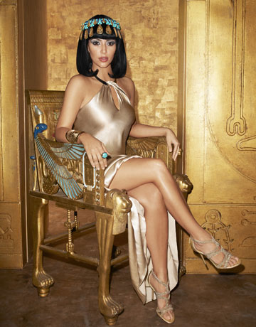 Kim Kardashian as Cleopatra For Harper's Bazaar – PHOTOS