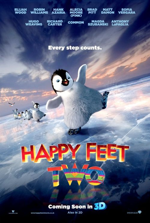 FIRST LOOK: Star Studded 'Happy Feet Two'