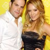 Hilary Duff and Mike Comrie At A Red Carpet Event