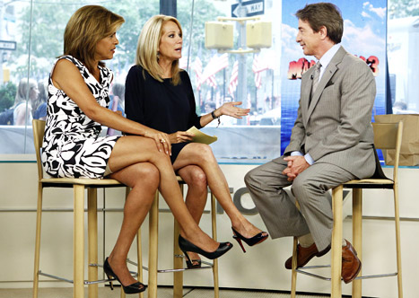 Stupid Kathy Lee Gifford Asks Martin Short How His Dead Wife's Doing