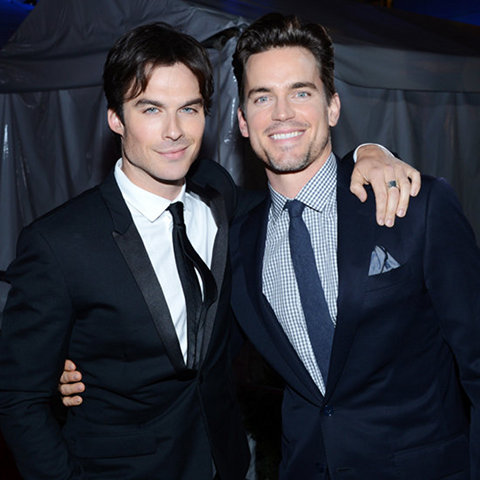 Ian Somerhalder Shows Off Sexy Fifty Shades of Grey Side At People&#8217;s Choice Awards (Video)