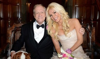 Hugh Hefner Has a New Bunny Bride – Crystal Harris Hefner!