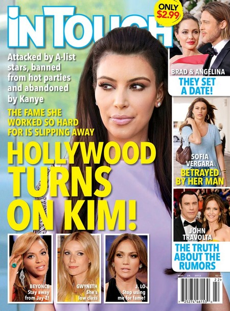 Kim Kadarshian despised and ignored by Hollywood a listers