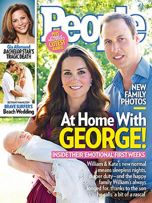 Family Photos - At Home With Prince George Alexander