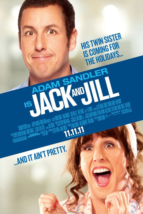 Adam Sandler: 'Jack and Jill' Movie Poster