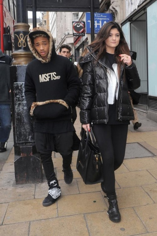 Jaden Smith and Kylie Jenner